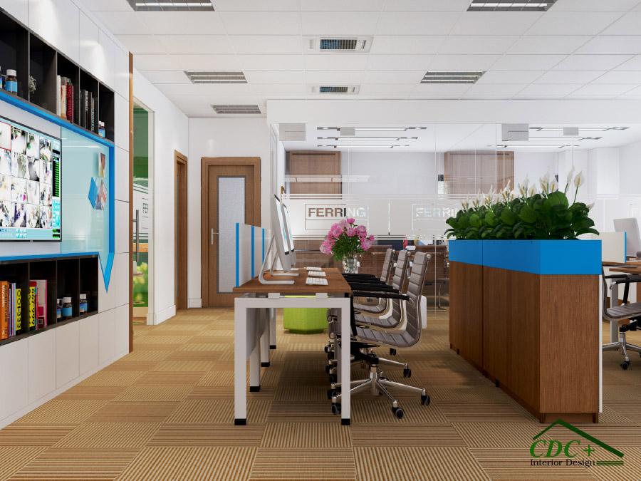 Thiết kế dự án văn phòng FERRING