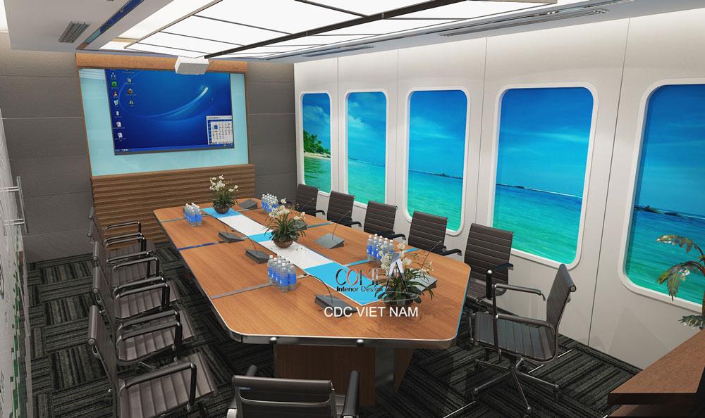 Thiết kế thi công văn phòng Tập đoàn Việt Hàn