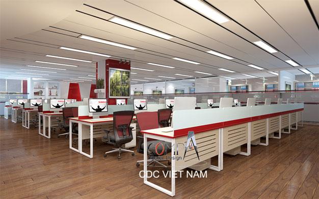 Thiết kế văn phòng tầng 12 Tập Đoàn Sunhouse