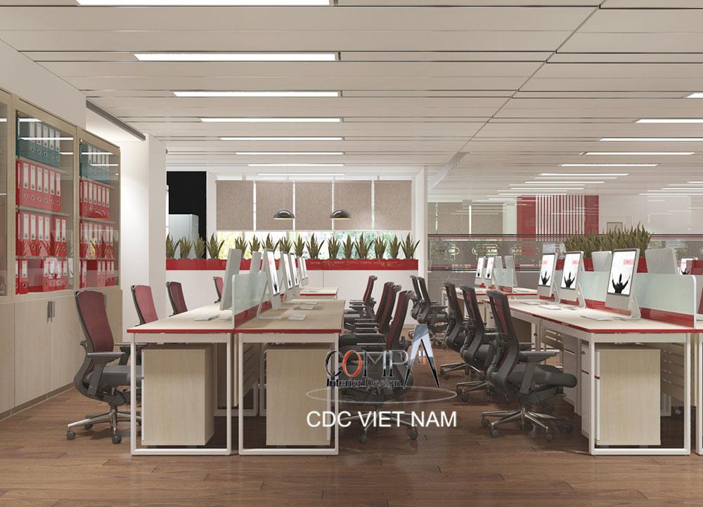 Thiết kế văn phòng tầng 13 Tập Đoàn Sunhouse