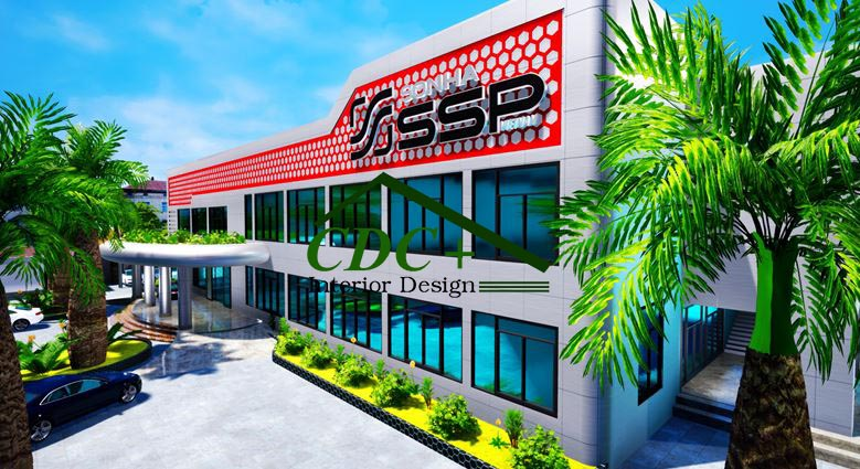 Thi công văn phòng Công ty Sơn Hà SSP Việt Nam