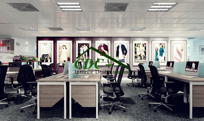 Thiết kế Văn Phòng làm việc Công ty TORANO