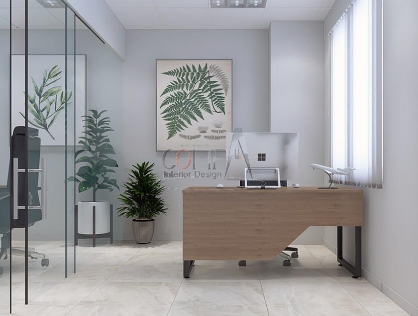 Thiết kế và thi công văn phòng công ty Minh Nam