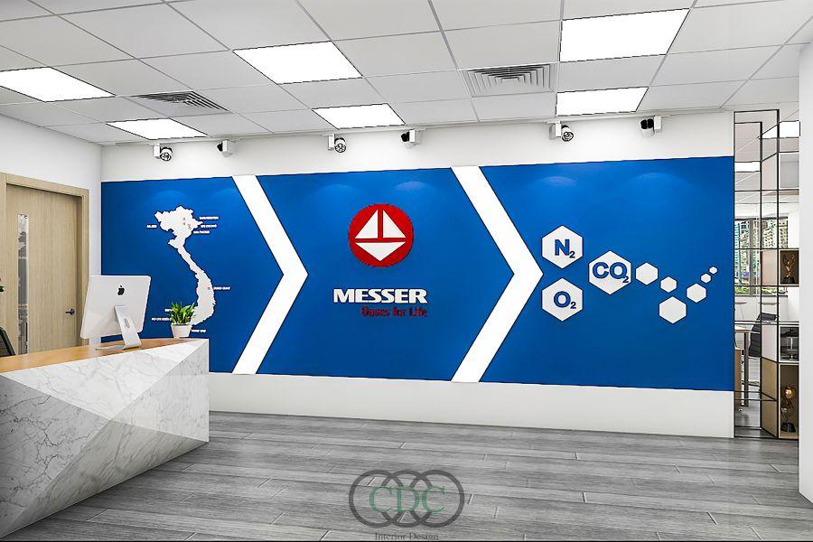 Thiết kế và thi công văn phòng MESSER