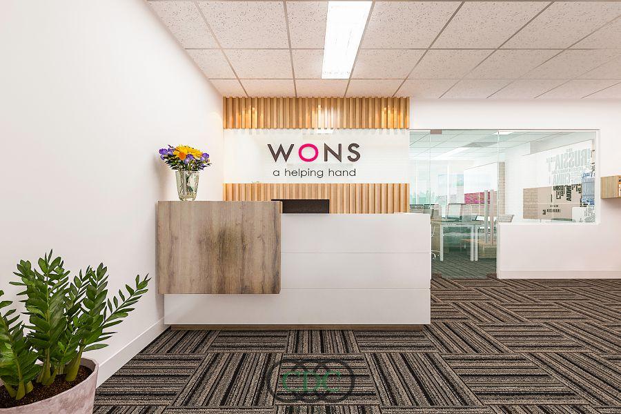 Thiết kế và thi công văn phòng WONS